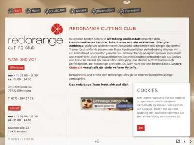 Redorange cutting club Offenburg